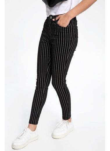 DeFacto Anna Yüksek Bel Super Skinny Denim Pantolon Siyah